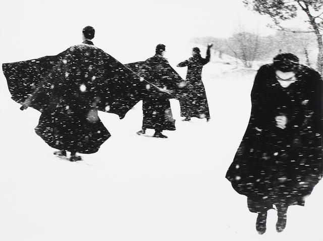 Mario Giacomelli (Italian, 1925-2000) Untitled, from 'Io non ho mani che mi accarezzino il volto', Senigallia, 1961-63 29.9 x 39.9cm (11 3/4 x 15 11/16in).