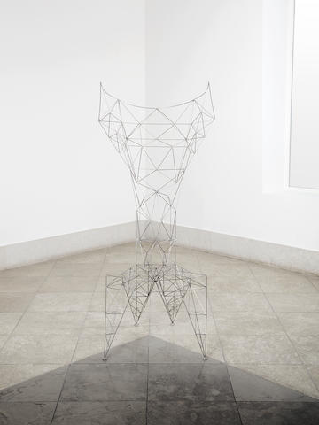 Tom Dixon A Pylon Chair  designed in 1992  welded steel Height: 145.5 cm. 57 5/16 in.