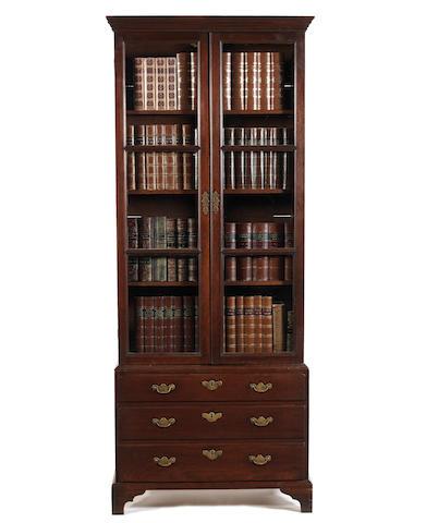 A George II mahogany bookcase