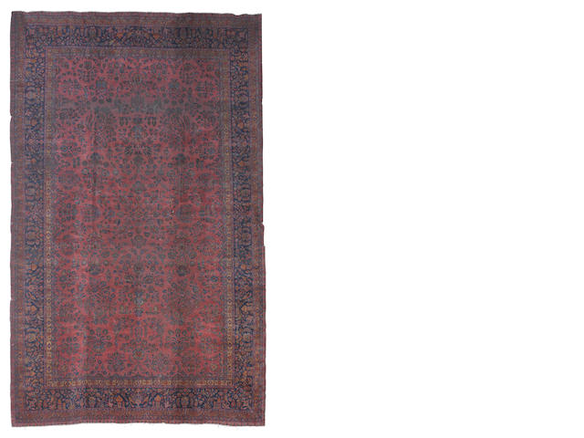 A Sarouk carpet, West Persia, 582cm x 361cm