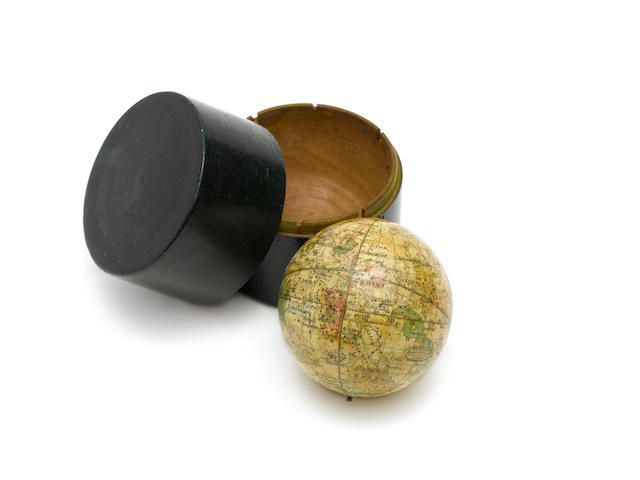 A Newton's Improved Pocket Celestial Globe
