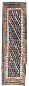 A Luri runner, West Persia, circa 1900, 13 ft 5 in x 4 ft 3 in (410 x 130 cm) minor losses to one end