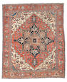 A Karaja carpet, North West Persia, circa 1890, 12 ft 6 in x 10 ft 8 in (380 x 325 cm) some restoration