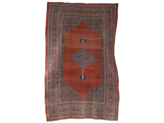 A Bidjar carpet, Persian Kurdistan, circa 1890, 17 ft 9 in x 11 ft 3 in (541 x 342 cm) some minor wear