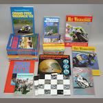A quantity of Dutch motorcycle race-related books,