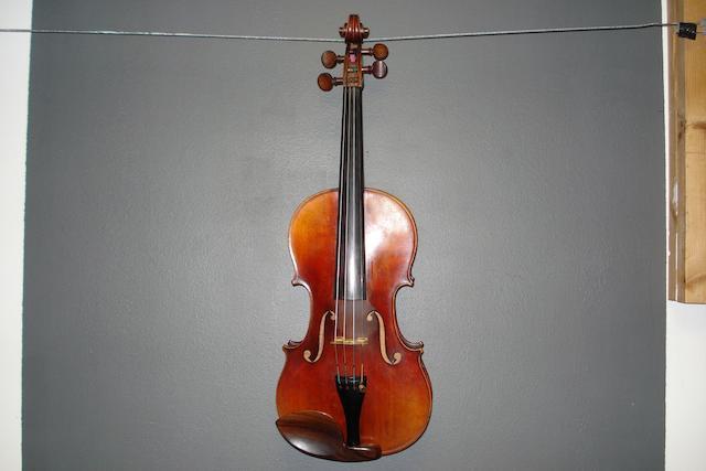 A Mirecourt Violin of the Nicolas Vuillaume School circa 1860 (1)