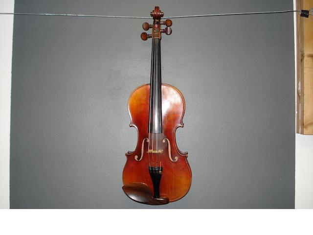 A Mirecourt Violin of the Nicolas Vuillaume School circa 1860 (1)