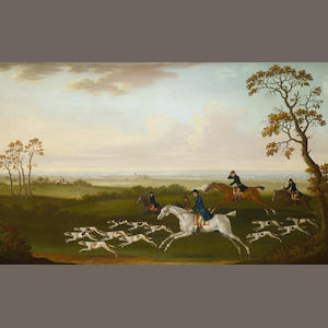 Follower of James Seymour (London 1702-1752) Hunting scene