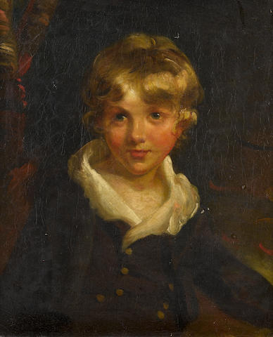 Circle of John Hoppner (London 1758-1810) Portrait of a young boy, half-length,