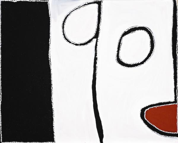Paddy Bedford, Goonyoorriban - Eaglehawk, 2004 (PB CB 3 2004.26), 80 x 100cm