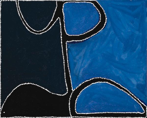 Paddy Bedford, Dingo Springs, 2004 (PB CB 6 2004.54), 80 x 100cm
