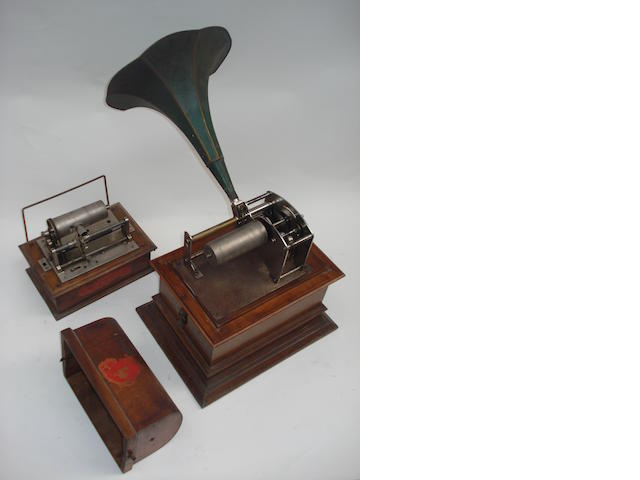 Two Phonographs: