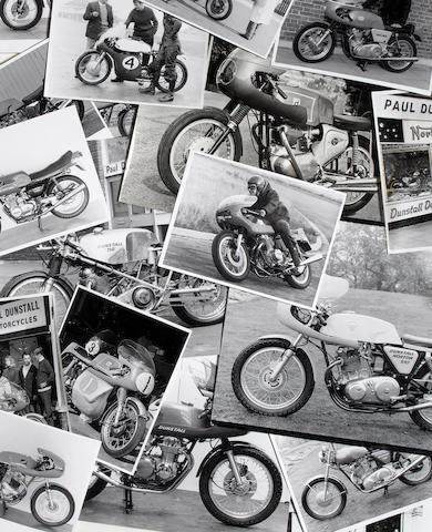 The Ken Jones photographic archive of Paul Dunstall Norton and other customised road machines,  Offered for sale without reserve,
