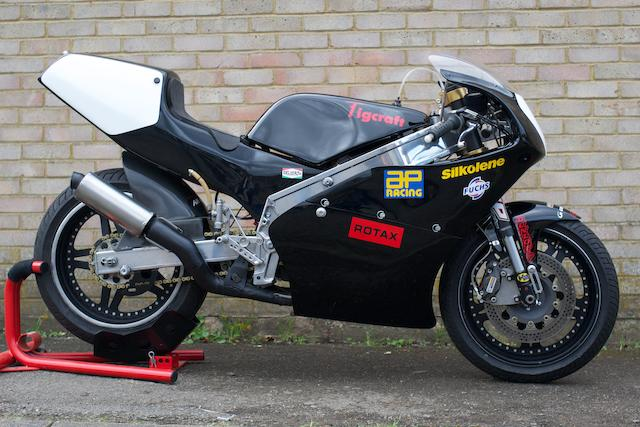 1992 Tigcraft Rotax 640cc Supermono Racing Motorcycle