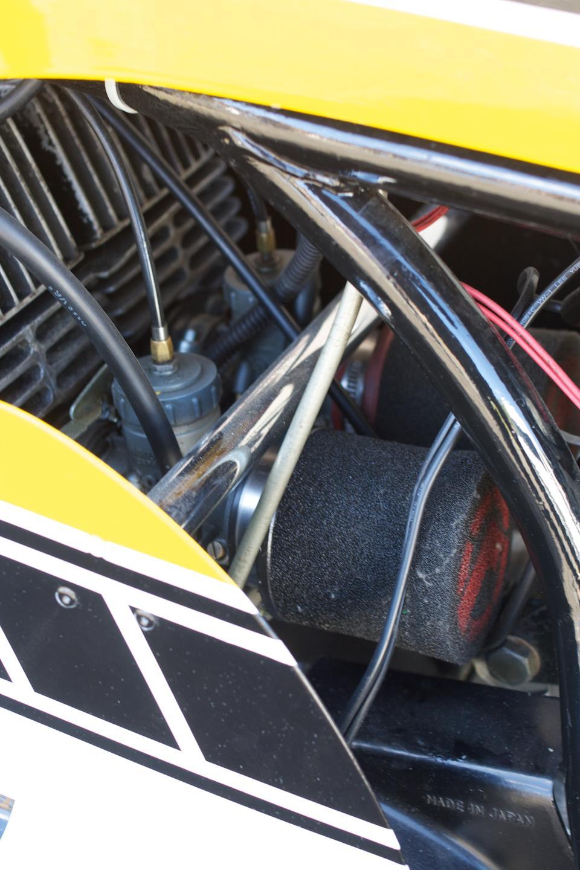 1972 Yamaha 266cc TD3 Replica Frame no. DS7 107790 Engine no. DS7 118158