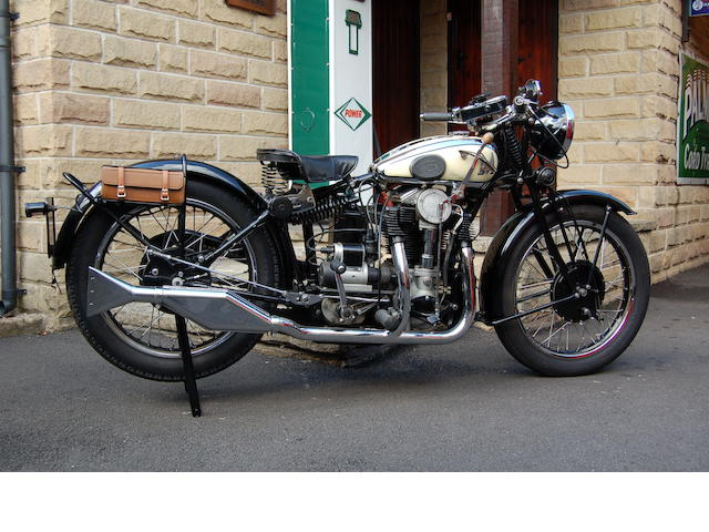 1934 Matchless 592cc Silver Hawk Frame no. 1899 Engine no. 34B 1630