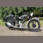 1936 Calthorpe 247cc Ivory Frame no. R1/1638 Engine no. R1/1699