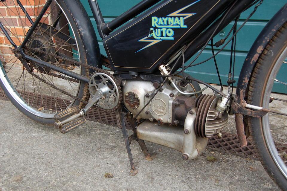 Bonhams : 1937 Raynal 98cc Auto de Luxe Frame no  1742