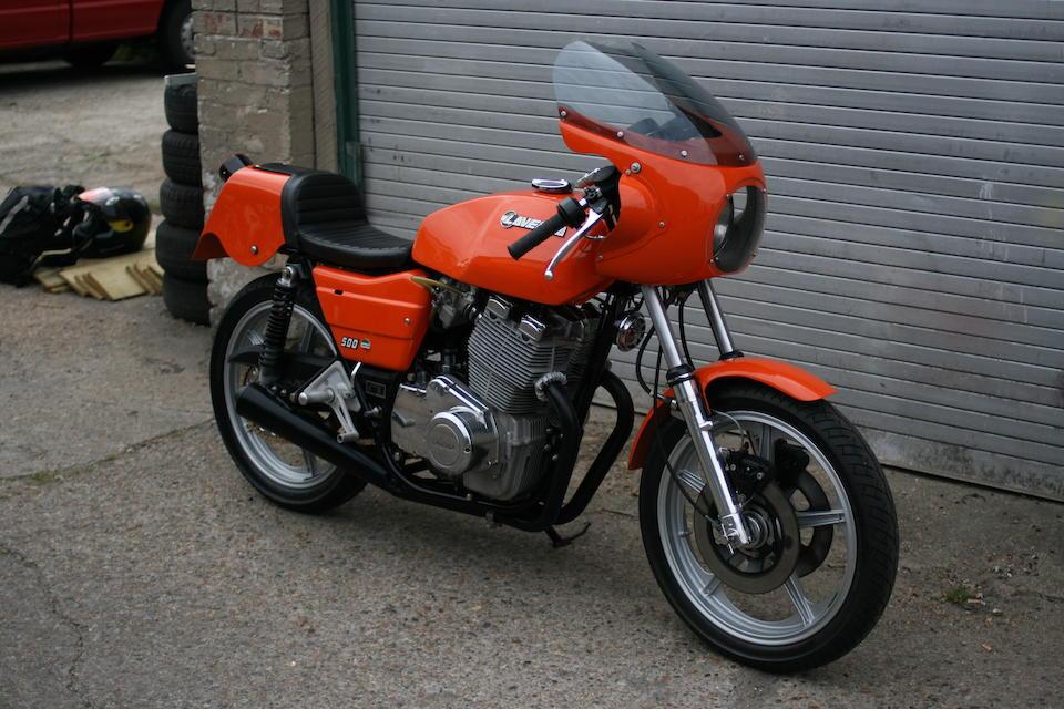 1979 Laverda 497cc Montjuic Mk1 Frame no. 2687 Engine no. 2687