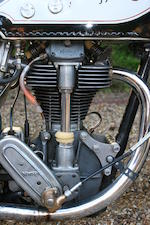 1935 Norton 490cc International Model 30 Frame no. 55685 Engine no. 60490