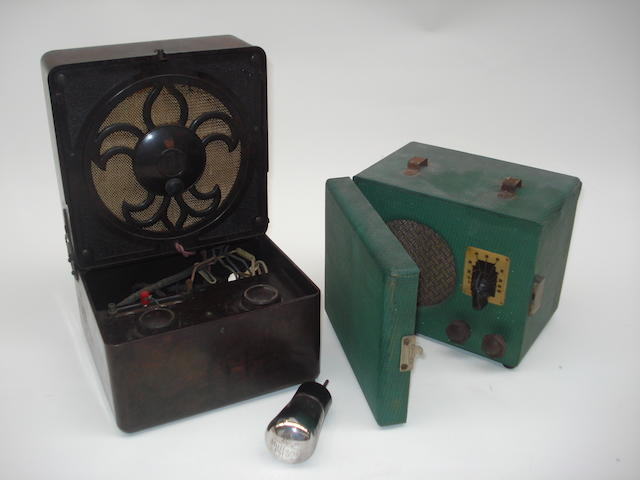 A Kolster Brandes 'Masterpiece' portable wireless receiver, circa 1930,