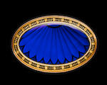 A fine gold, enamel and pictorial enamel oval-form carillion bell case, stamped GG, circa 1805,