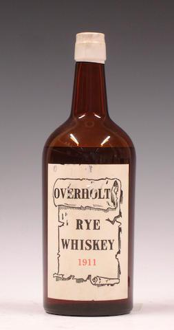Overholt Rye Whiskey-1911