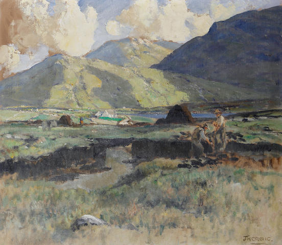 James Humbert Craig (Irish, 1878-1944) 'The Mayo Hills'