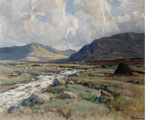 James Humbert Craig (Irish, 1878-1944) 'A Trout Stream, Connemara'