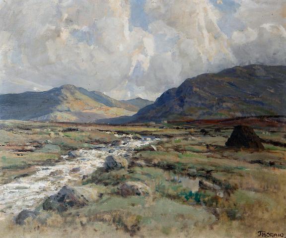 James Humbert Craig (Irish, 1878-1944) 'A Trout Stream, Connemara'