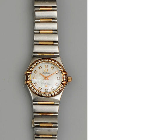 Omega: A lady's Constellation diamond