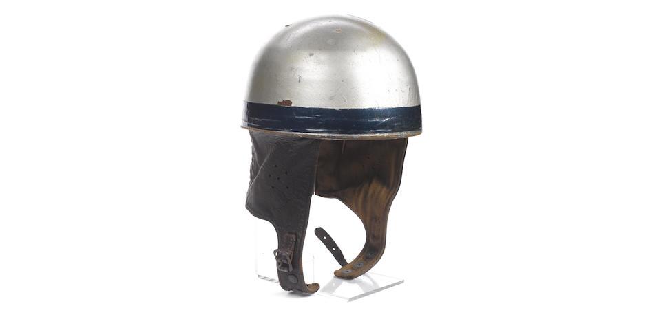 Bob Foster's 1950 World Championship winning helmet.