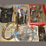 Assorted motorcycle spares,