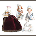 Dressel and Kister shoulder head and half-dolls 8