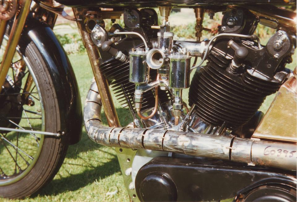 1928 Brough Superior SS100 'Moby Dick' Frame no. 993 Engine no. JYO/C 20728/T