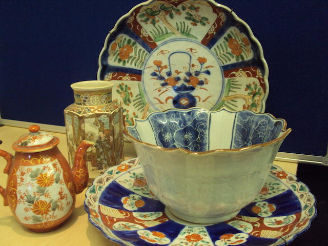 A collection of Japanses ceramics
