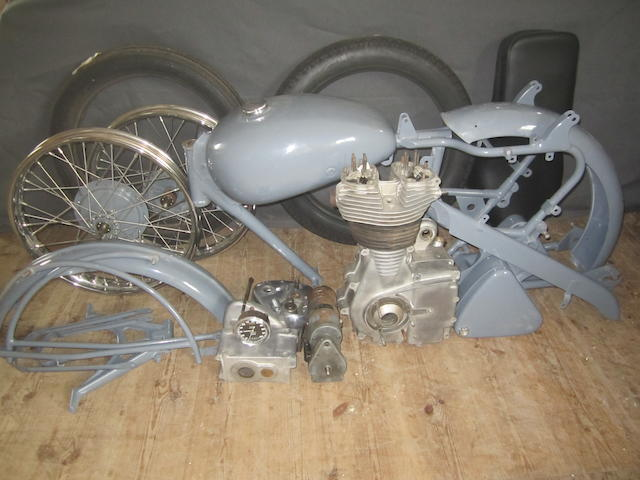 1954 Royal Enfield 349cc Bullet Frame no. G2/28310 Engine no. 4759