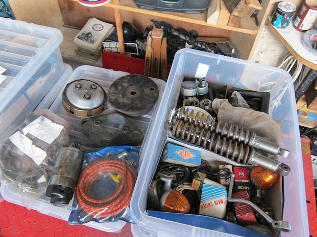 A lot of assorted spares,