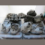 Assorted Burman gearbox cases and outer covers,