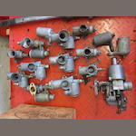 A quantity of Amal 276, 376 and 389 carburettors,