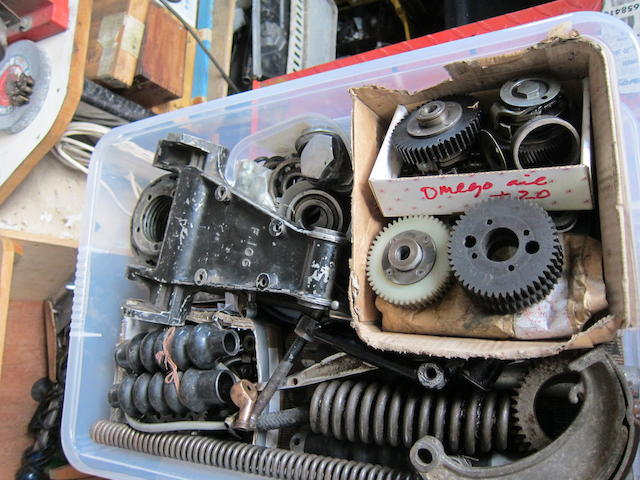 Assorted Vincent spares, mainly Comet,