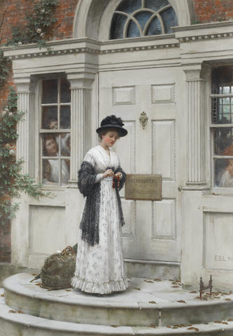 Edmund Blair Leighton, ROI (British, 1853-1922) The New Governess