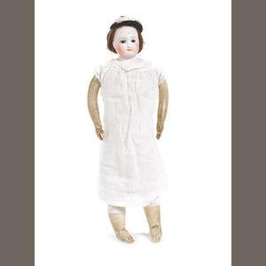 Bisque shoulder head fashion doll