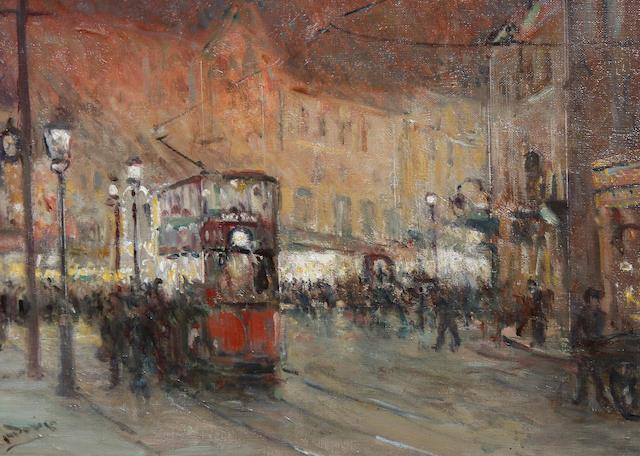 Albert Ludovici, Jnr., RBA (British, 1852-1932) Regents Street
