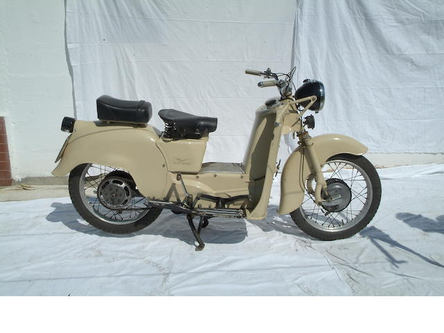 1954 Moto Guzzi 192cc Galletto Frame no. GAM 40