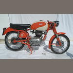 1955 Parilla 175cc Sport Frame no. 402525 Engine no. 402525