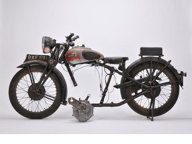 1935 Ariel 250cc Frame no. Y11441 Engine no. HA451