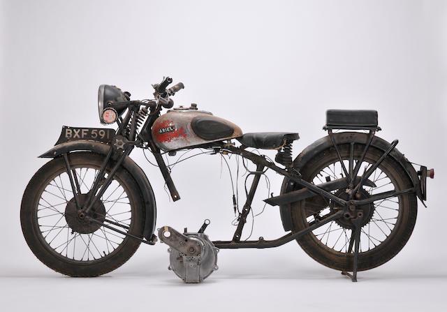 1935 Ariel 250cc Frame no. Y11441 Engine no. HA451