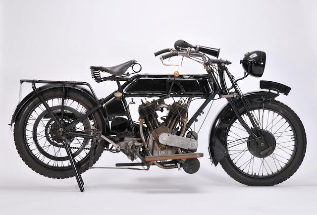 1923 Stedman 980cc Frame no. P119 Engine no. M-262547