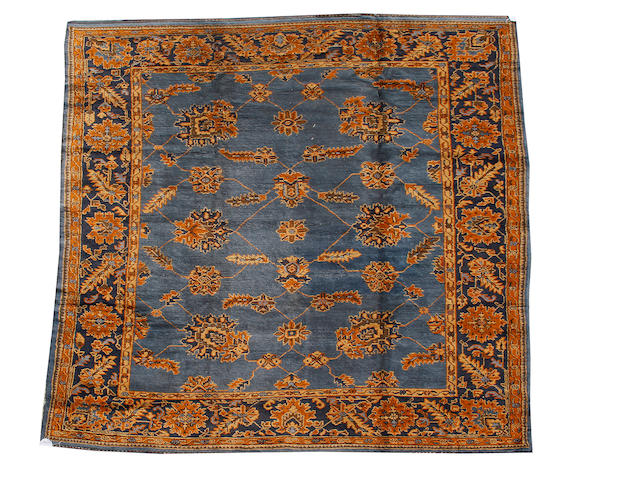 An Ushak carpet West Anatolia, 321cm x 281cm